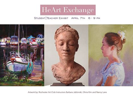 HeArt Exchange: Student/Teacher Exhibit 2017