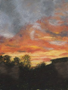 Chincotique Sunset Gabriele Lodder Pastel